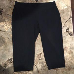 Plus size pure Jill slim leg cropped 3X